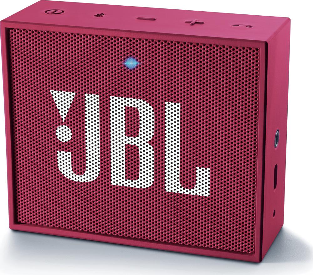JBL GO ružový