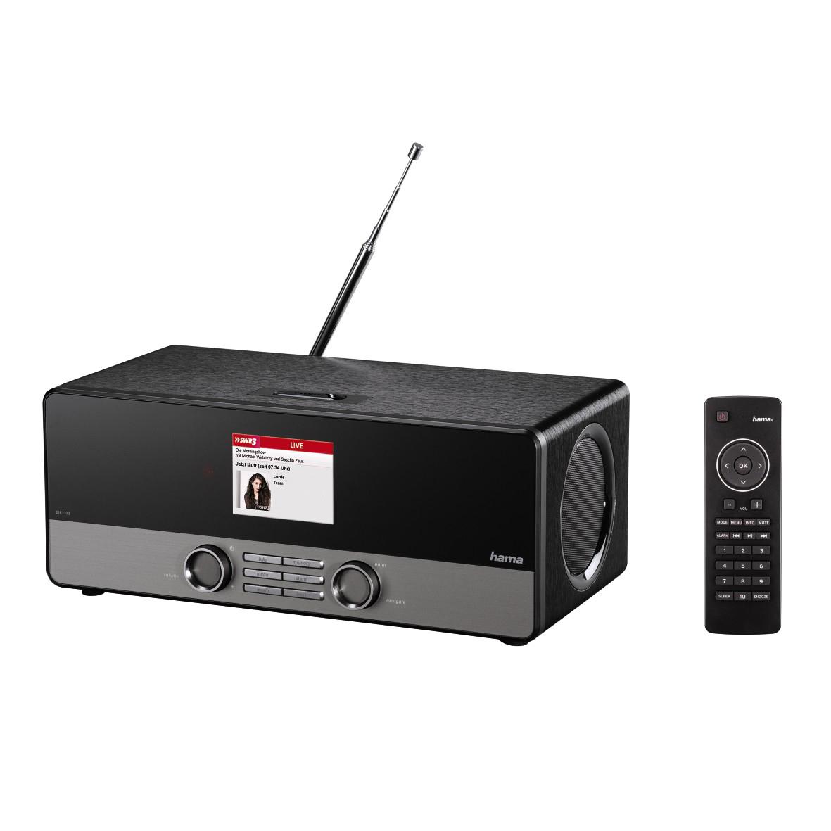 Hama DIR3100 internetové rádio
