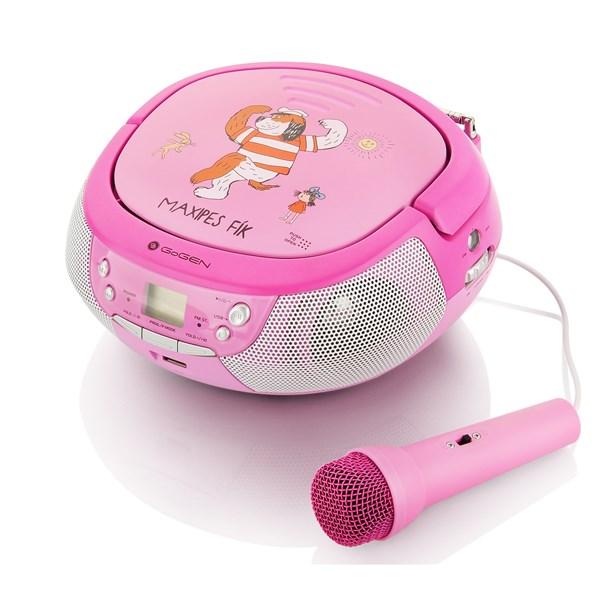 GoGEN Maxipes Fik MAXIprehrávač Karaoke pink
