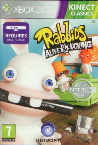 Rabbids : Alive a Kicking (XBOX 360 Kinect)