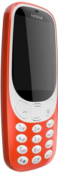 Nokia 3310 DualSim červená